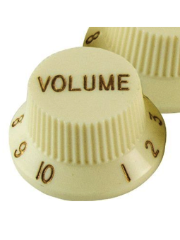 Allparts PK-0153-048 Volume Knobs