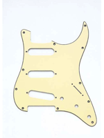 Allparts PG-0552-048 Pickguard for Stratocaster Vintage Cream