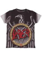Rock Off SLAYER Silver Eagle Sublimation L