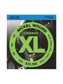 Daddario EXL165 Nickel Wound Bass