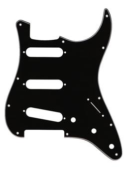 Fender Stratocaster 3PLY Black