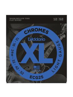 Daddario ECG25 Lite Flat Wound