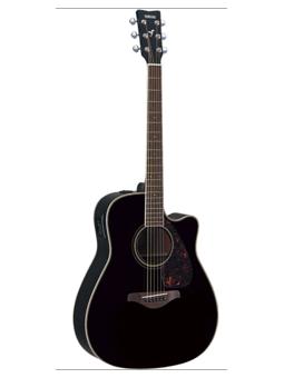 Yamaha FGX720SCII Black