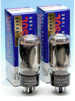 Tungsol 6L6 STR Platinum Matched Pair