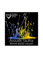 D'orazio 80/20 Acoustic Bronze 11/50