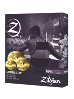 Zildjian Planet Z ride + hi-hat + crash