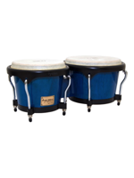 Tycoon TB-80-B-BL Bongos Artist Hand Painted