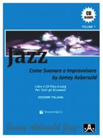 Volonte Jazz Come suonare e improvvisare by JAMEY AEBERSOLD