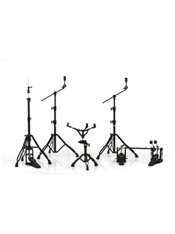 Mapex HP8005EB-DP Armory 800 Hardware Pack Double Pedal Black Plated
