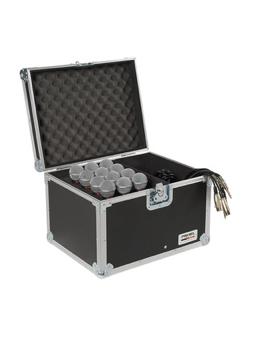Proel SA32BLKM Custodia Per 12 Microfoni
