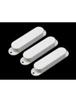 Allparts PC-0446-025 Pickup Covers for Stratocaster White