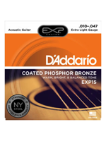 Daddario Exp 15 Coated Phosphor Bronze
