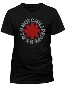 Cid Red Hot Chili Peppers - Distressed Asterisk Small