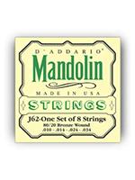 DAddario J62 80/20 Bronze Mandolin