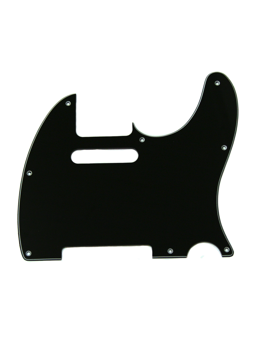 Allparts PG-0562-033 Pickguard for Telecaster Black