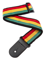PLANET Woven Guitar Strap, Jamaica