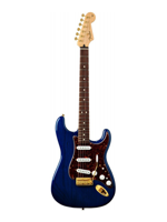 Fender Deluxe Players Strat Rw Sapphire Blue Transparent