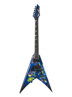 Dean V Dave Mustaine Rust In Peace W-case