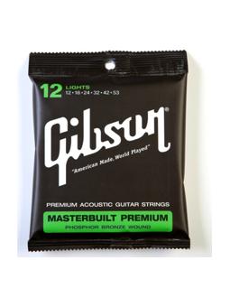 Gibson SAG-MB12 Masterbuilt Phosphor Bronze