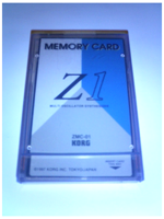KORG ZMC01 Card (Z1)