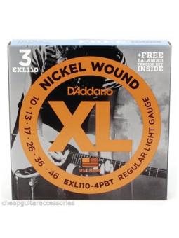 Daddario PACK EXL110-4BT