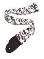 Planet Waves Strap THE BEATLES Black Logo Tessuto