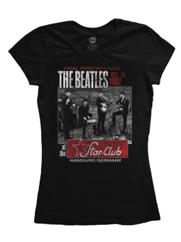 Rock Off The Beatles Star Club Ladies XL
