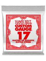 Ernie Ball 1017 Corda Singola 0,17