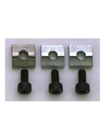 Allparts BP-0116-010 Chrome Nut Blocks