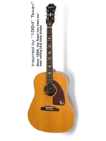 Epiphone Inspired by 1964 Texan Natural