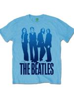 Rock Off THE BEATLES Mens Iconic Image on Logo Light blue XXL
