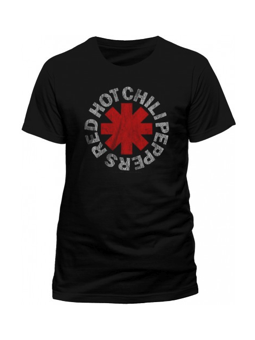 Cid Red Hot Chili Peppers - Distressed Asterisk ExtraLarge