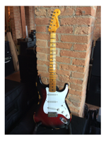 Fender 1954 Heavy Relic Stratocaster 2TS/Red Sparkle