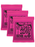 Ernie Ball 3223 Nickel Super Slinky 3-Pack