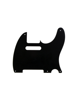 Allparts PG-0560-023Pickguard for Telecaster Black