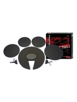 Stagg DF1222 SET - Set di sordine per Batteria - Drum Set Practice Pad
