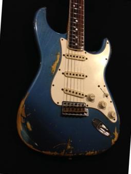 Fender 1965 STRATOCASTER HEAVY RELIC LAKE PLACID BLUE