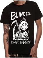 Cid T-shirt BLINK 182 Bored to death black TG XXL