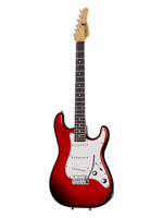 Schecter Traditional SSS Candy Red