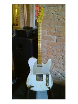 Fender 51 Tele Heavy Relic Dirty White