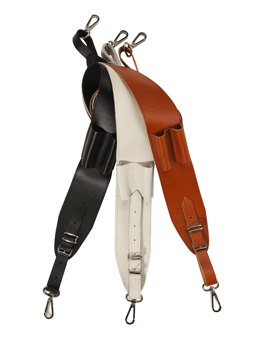 Stefy Line SLSBTRMRN Tracolla Marrone in Cuoio - Brown Leather Shoulder Belt