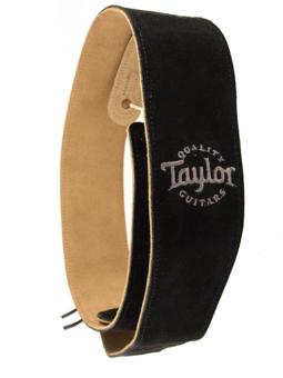 Taylor Suede Strap Black