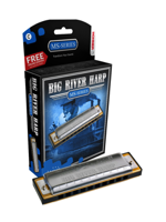 Hohner BIG RIVER HARP F