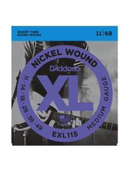 Daddario Exl115 Bules/jazz Rock