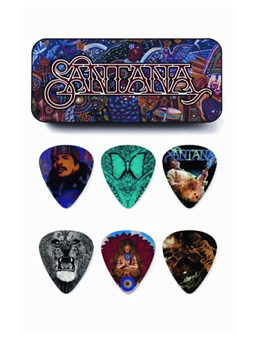 Dunlop Santana Picks Box