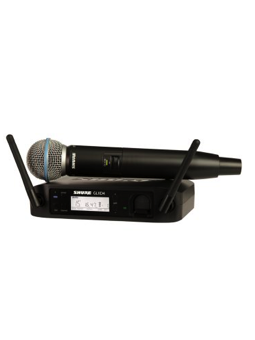 Shure GLXD24/B58 Handheld Digital Wireless Beta58