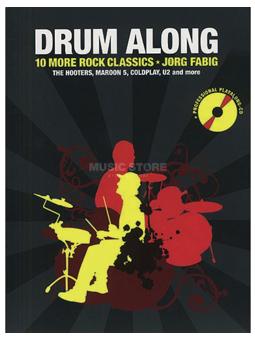 Volonte Drum Along 10 More Rock Classics + Jorg Fabig