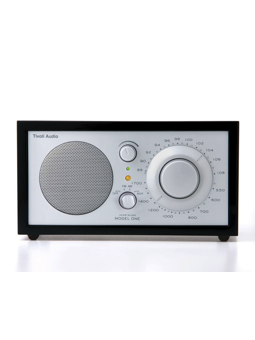 Tivoli Audio - Henry Kloss Model One Classic Black Ash / Silver