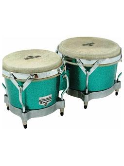 Lp M200FXR -  bongos MATADOR green glitter