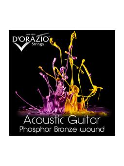 D'orazio Acoustic Phosphor Bronze 12/56